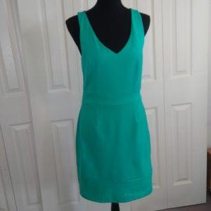 Cynthia Rowley Deep Aqua Sleeveless Dress